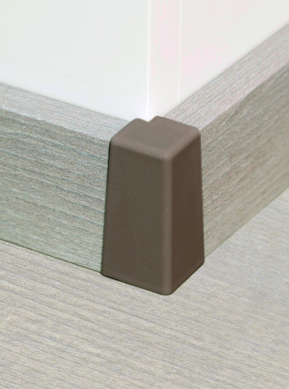 aussenecken edelstahloptik zubeh r sockelleisten zubeh r floor house online shop. Black Bedroom Furniture Sets. Home Design Ideas