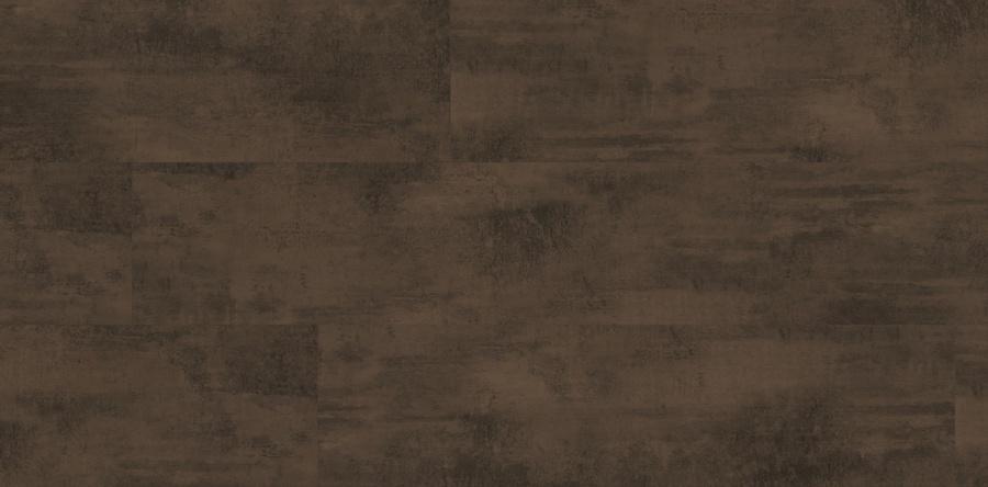 Laminatboden Metall OXID DARK BROWN