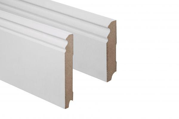 Sockelleiste weiß 115 mm